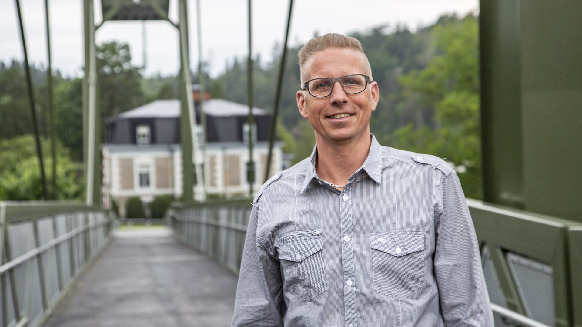 Daniel Ångefors önskar glad sommar efter första halvåret som VD