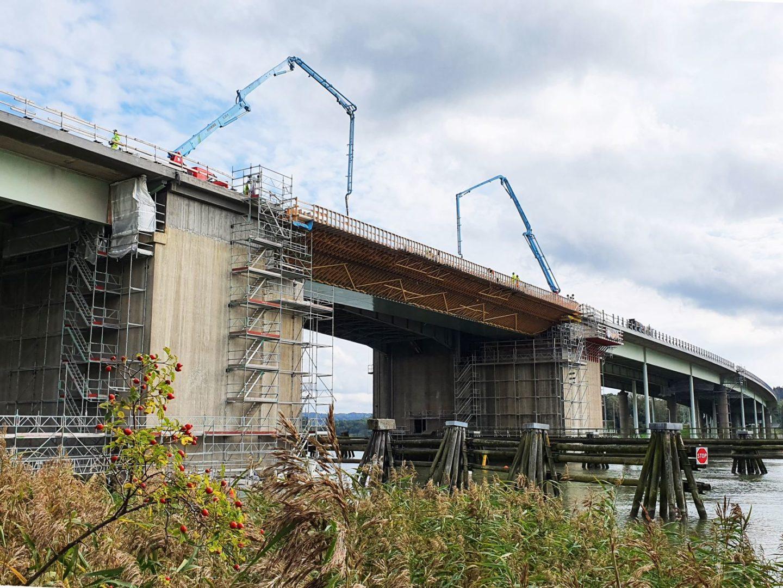 Underhåll och förbättring av Nordre älv bron, Kungälv