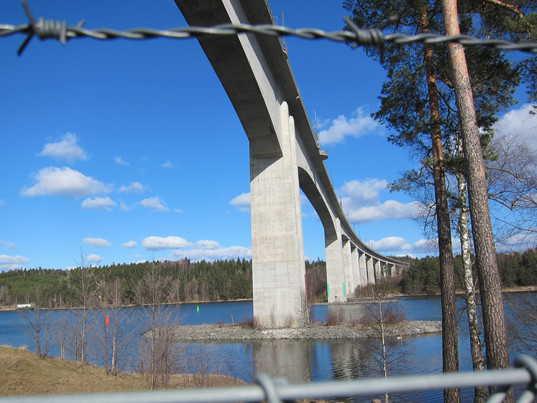 Igelstabron, järnvägsbro