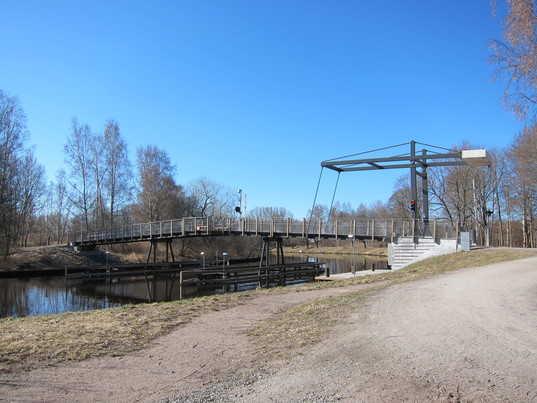 Osetbron GC-bro över Svartån – Örebro