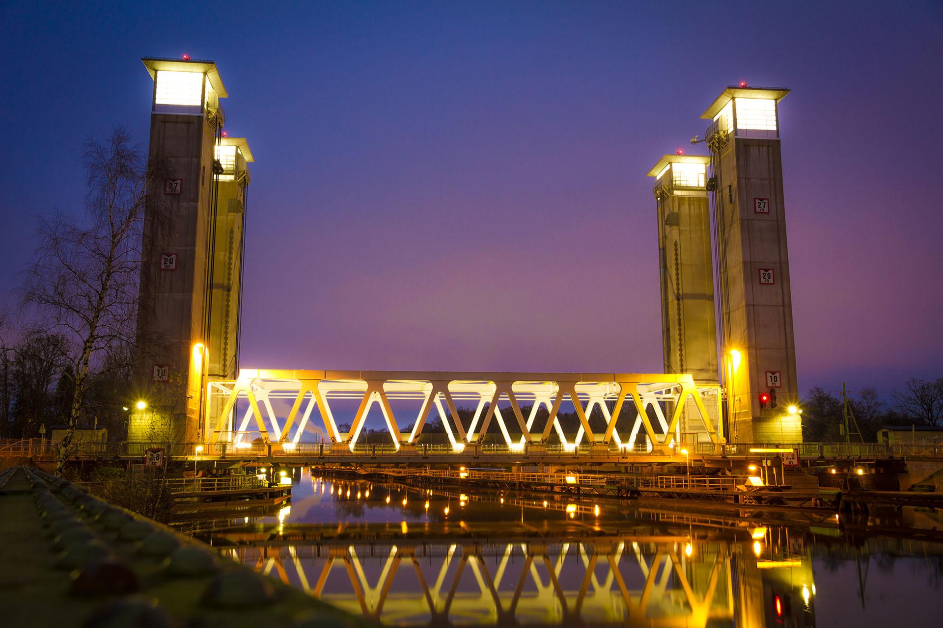 Vajerbyte Lyftbron Trollhättan